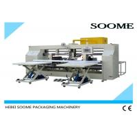 Quality Double Screw Carton Box Stitching Machine Bending Type 45 Degree Oblique CE Certification for sale