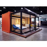 China China Easy Install folding modular Prefabricated Steel Structure Container House prefab homes on sale