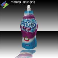Quality juice packaging,high quality stand up pouch with spout, liquid plastic packaging for sale