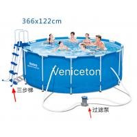 Veniceton huge deep adult size inflatable pool pvc Square swimming pools for sale