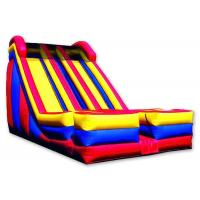 Quality Dual 2  Lanes Large Inflatable Slide 0.55 Mm PVC Tarpaulin Enviroment - Friendly for sale