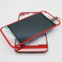 Quality Red Clear LCD Assembly for iPhone 4 with Back Housing for sale