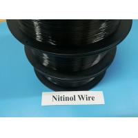Quality 0.03-5.0mm Shape Memory Alloy Materials Nitinol Nickel Titanium Superelastic for sale