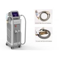 China 808 Diode Laser Hair Removal/ Nd yag LaserTattoo Removal Machine on sale