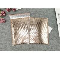China Waterproof Metallic Foil  Bubble Package Envelope / Glamour Bubble Mailers Custom Logo on sale