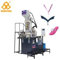 Quality Vertical Type 1 Station Slipper flip flop Making Machine With 7.5KW Motor / 2 Years Gurantee for sale