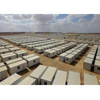 Quality High Efficiency Flat Pack Portable Storage Containers As Large Disaster Shelters for sale