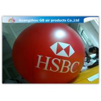 China Yellow Fly Helium Sphere Advertising Air Balloon For Business Center Rental on sale
