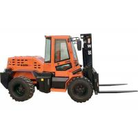 China Custom 3.5 Ton Compact Rough Terrain Forklift With XINCHAI 490 Engine on sale