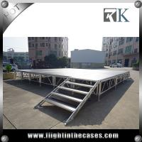 Quality Assembly folding stage outdoor portable stage hot sale cheap portable stage for sale