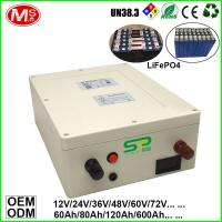 Quality Rechargeable Li-Polymer 12 Volt 100 Amp Hour Deep Cycle Battery LifePo4 for sale