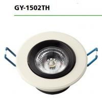 Quality 3000k / 6500k Round Led Downlights GY-1502TH 7W AC100-265V Input Voltage for sale