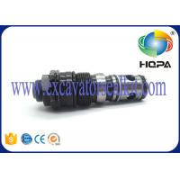 China Ex75-2 EX3600 Hitachi Excavator Spare Parts , Spill Control Valve Iron Material on sale