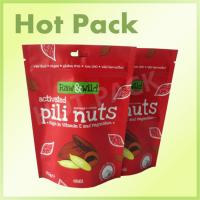Buy cheap 70g Nuts Stand Up Barrier Pouches , Tear Notch Flexible Pouch Packaging from Wholesalers
