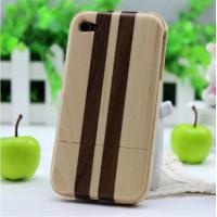 Quality Bamboo Wood Lightweight Best Cheap Nice 3D Case For Iphone 4/4S With Anti Scratch for sale