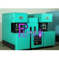 China Beverage Semi Automatic Bottle Blowing Machine For 500ml Bottles , 2 Heater on sale