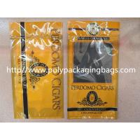 Quality Plastic Cigarettes Cigar Humidor Bags With Hanger Hole Personalized Style for sale