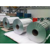 Silver Raw Material Aluminum Coil Roll Cold Rolling Temper O - H112