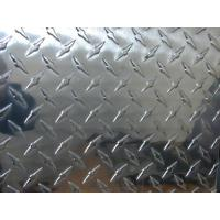 Quality Professional Flat Clean Aluminium Checkered Plate , Al Tread Plates with 1100 3003 5052 for sale