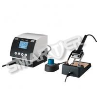 Quality 80W Antistatic Automatic Temperature Controlled Soldering Station With Sleeping Sensor for sale