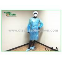 Quality Blue / White Disposable SMS , Polypropylene Surgical Gowns Kits for sale