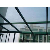 Quality Edge Polished Clear Laminated Safety Glass For Construction Glass Sample Available for sale