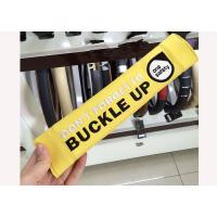 Quality Seat Belt Strap Covers For Adults , Yellow Auto Seat Belt Accessories for sale