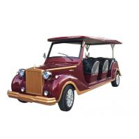 China 8 Seats Electric Sightseeing Car Shuttle Bus Rail Traction Motor 800kg Weight on sale