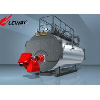 Quality Fuel Oil Fired Steam Boiler ON - OFF Computer Control Operation 20℃ Feedwater Temp for sale
