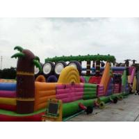 Quality Multifucaional Giant Inflatable Amusement Park Outdoor PVC Jumping Bouncy Castle for sale