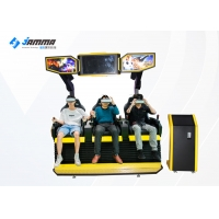 Quality 3 Seats 9D VR Motion Cinema With SSD 240G I5 System for sale