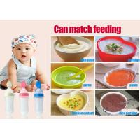 Baby cereal feeding bottles silicone extrusion type rice paste bottle ...