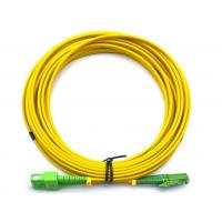 Quality E2000 APC To SC APC Duplex Fiber Optic Cable OS2 Single Mode 2.0mm Bend Insensitive for sale