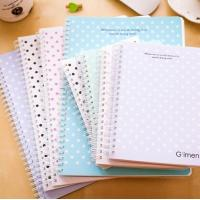Cheap bulk paper cover exercise spiral notebook a5 / school supplies