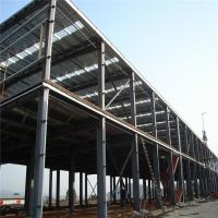 Quality Construction Pre Manufactured Steel Buildings Workshop Workhouse Building for sale