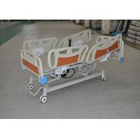 Quality CPR Function Clinic Electric Bed With collasible ABS Side Rails for sale