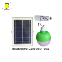 China Remote Control 360° 5500K Solar Rechargeable Light on sale
