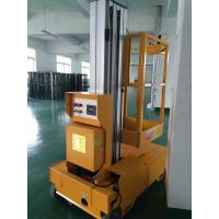 Quality Self Propelled Electric Cherry Picker Single Mast Aerial Platforms Manlift for sale