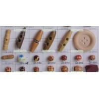 Buy cheap wooden buttons, fashion accessories from wholesalers