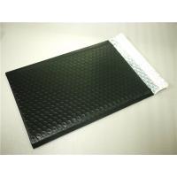 China PET Black Bubble Lined Envelopes , 6x10 Bubble Mailers Size 0 Impact Strength on sale