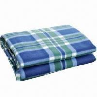 Quality Picnic/Camping Blanket with Front Fleece Fabric and Waterproof Back PEVA for sale