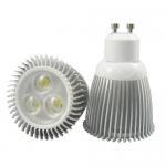 Quality E27 AC 110v, 220v, 250V 16 - Color 1 x 3W Aluminum Spotlight RGB LED Bulbs for sale