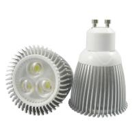 Quality E27 AC 110v, 220v, 250V 16 - Color 1 x 3W Aluminum Spotlight RGB LED Bulbs for sale