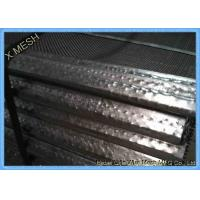 Buy cheap 65mn Steel Mining Screen Mesh , Hooked Vibrating Rock Screen Galvanized 1.5m X from wholesalers