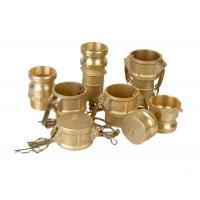 Buy cheap Camlock Hose Coupling Fittings Stainless Steel / Aluminum / Pp / Nylon / Brass from wholesalers