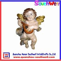 China Polyresin angels statue on sale