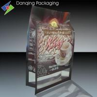 Quality Side Gusset Pouch Coffee Packaging Bags With Clear Window for sale