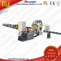 Quality CNC Angle Punching marking shearing machine Single Blade Shearing APLD1412 for sale