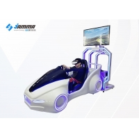 Quality 42 Inch Screen VR Racing Simulator One Electronic Cylinder for sale