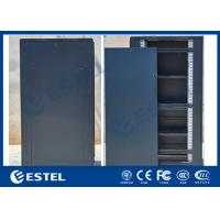 Quality Cold Rolled Steel Indoor Server Cabinet IP31 SPCC Floor Mounted Detachable Structure for sale